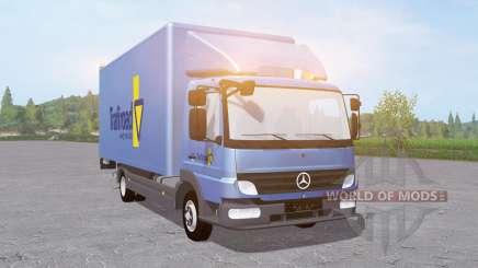 Mercedes-Benz Atego 818 2004 Trafiroad pour Farming Simulator 2017