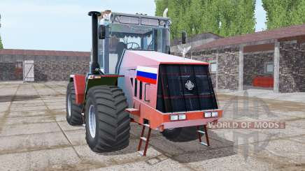 Kirovets K-744R3 leuchtend rot für Farming Simulator 2017