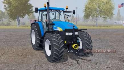 New Holland TM 175 vivid blue pour Farming Simulator 2013