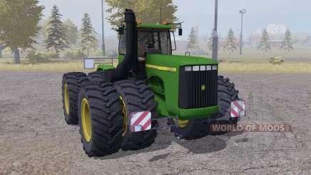 John Deere 9400 twin wheels für Farming Simulator 2013