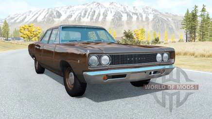Dodge Coronet sedan (WL-41) 1968 v3.1 pour BeamNG Drive