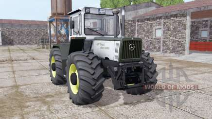Mercedes-Benz Trac 1400 Turbo light grayish für Farming Simulator 2017