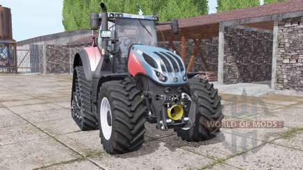 Steyr Terrus 6770 CVT crawler modules pour Farming Simulator 2017