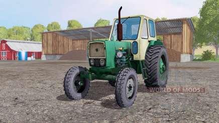 UMZ 6L gris clair-jaune pour Farming Simulator 2015