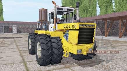 RABA 300 pour Farming Simulator 2017