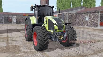 CLAAS Axion 930 soft yellow pour Farming Simulator 2017