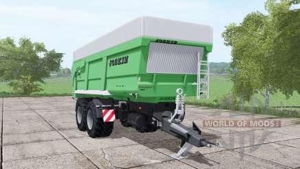 JOSKIN Trans-Space 7000-27 green für Farming Simulator 2017