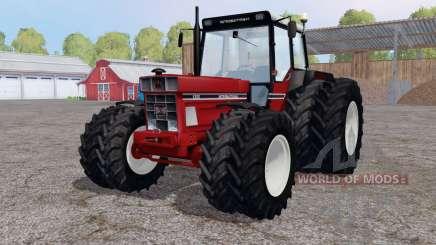 International 1255 twin wheels für Farming Simulator 2015
