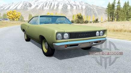 Dodge Coronet hardtop (WH-23) 1968 v3.0 pour BeamNG Drive