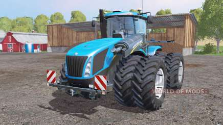 New Holland T9.700 twin wheels pour Farming Simulator 2015