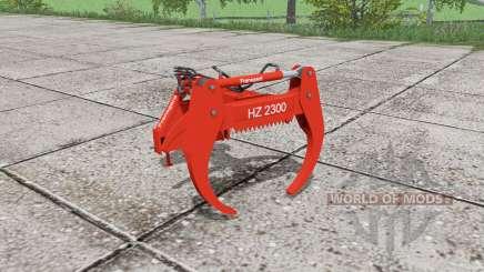 Fransgard HZ 2300 für Farming Simulator 2017