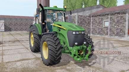 John Deere 7920 dark lime green pour Farming Simulator 2017