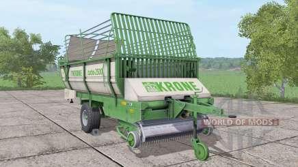 Krone Turbo 2500 v3.0 pour Farming Simulator 2017