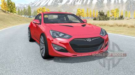 Hyundai Genesis coupe 2011 pour BeamNG Drive