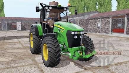 John Deere 7830 lime green für Farming Simulator 2017