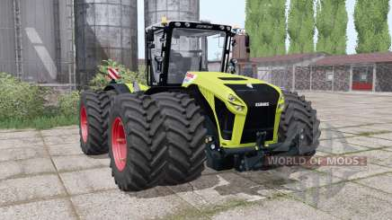 CLAAS Xerion 4500 twin wheels pour Farming Simulator 2017