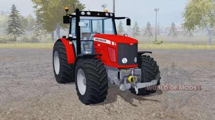 Massey Ferguson 6475 red für Farming Simulator 2013