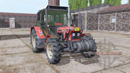 Zetor 7045 soft red pour Farming Simulator 2017
