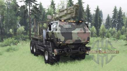 FMTV Himars 6x6 2006 custom pour Spin Tires