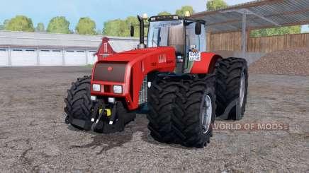 La biélorussie 3522 deux roues pour Farming Simulator 2015