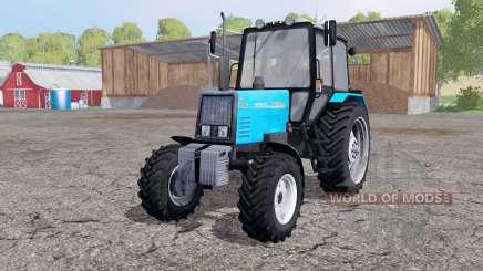 MTZ 892 Biélorussie avec une lame pour Farming Simulator 2015