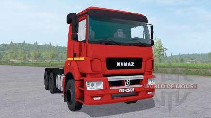KamAZ 65806-68 v2.2 pour Farming Simulator 2017