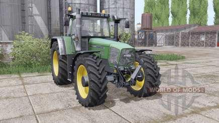 Fendt Favorit 824 Turboshift dual rear für Farming Simulator 2017