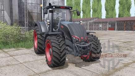 Valtra S324 black pour Farming Simulator 2017