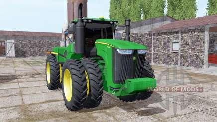 John Deere 9470R twin wheels für Farming Simulator 2017