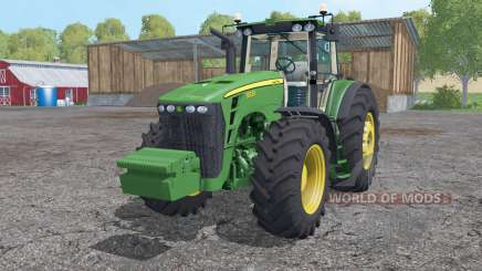 John Deere 8530 wheels weights für Farming Simulator 2015