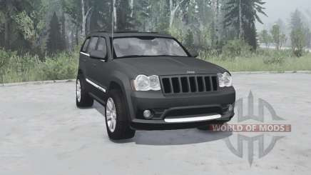 Jeep Grand Cherokee SRT8 (WK) 2008 pour MudRunner