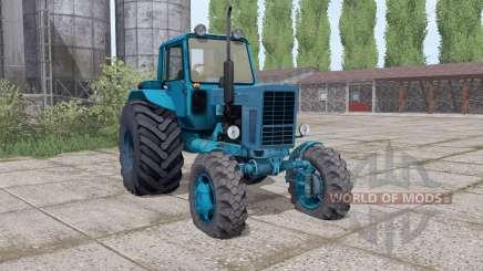 MTZ 82 Biélorussie gamme de configurations pour Farming Simulator 2017