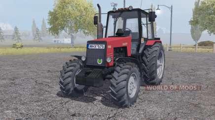 MTZ-1221 Biélorussie rouge pour Farming Simulator 2013