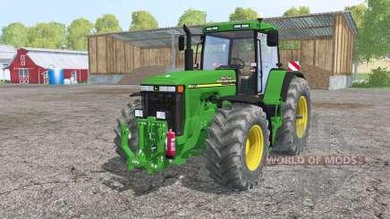 John Deere 8110 interactive control pour Farming Simulator 2015