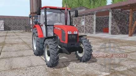 Zetor 5341 moderate red pour Farming Simulator 2017