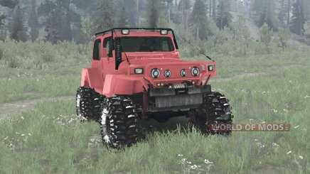 Jeep Wrangler (TJ) Pathfinder für MudRunner
