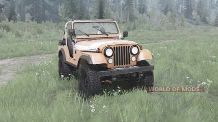Jeep CJ-5 Renegade 1976 pour MudRunner