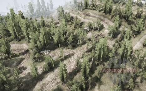 Forêt de feuillus pour Spintires MudRunner