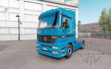 Mercedes-Benz Actros 1851 (MP1) v1.1 pour Euro Truck Simulator 2