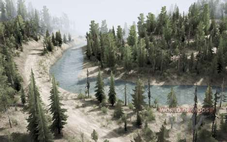 Kootenay Mountains pour Spintires MudRunner