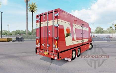 Scania R620 Fleurs pour American Truck Simulator