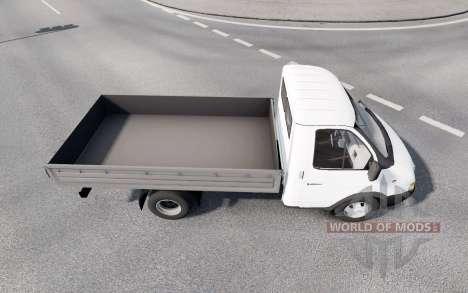 GAZ 3302 GAZelle 2002 pour Euro Truck Simulator 2