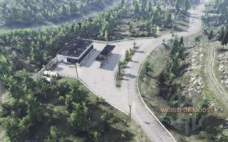 Forêt de feuillus v2.0 pour Spin Tires