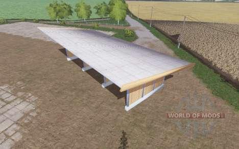 Wood chips storage pour Farming Simulator 2017