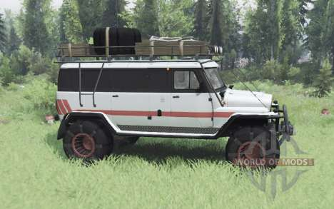 UAZ Ours pour Spin Tires