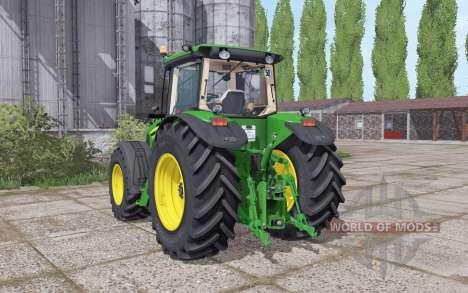 John Deere 7930 narrow twin wheels pour Farming Simulator 2017
