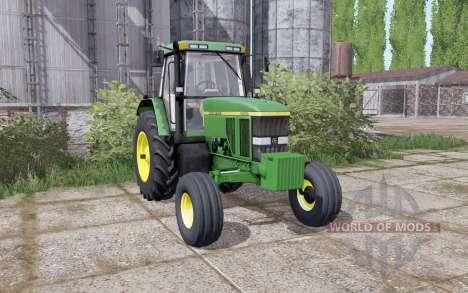 John Deere 7800 double à l'arrière pour Farming Simulator 2017