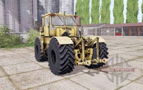 Kirovets K-700a variateur électronique à double roues pour Farming Simulator 2017