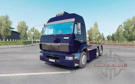 KamAZ 6460 pour Euro Truck Simulator 2