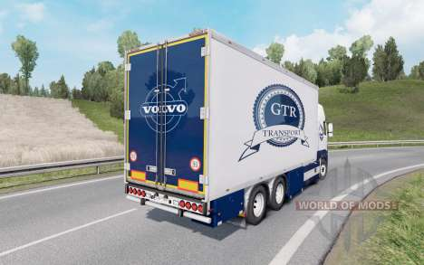 Volvo FH16 750 Globetrotter XL cab 2012 Tandem pour Euro Truck Simulator 2